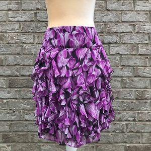 Worthington Purple Skirt